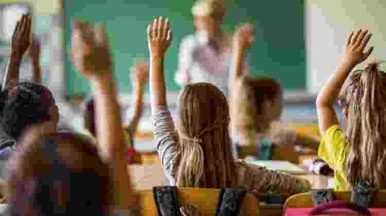 Plano do governo Biden prevê US$ 200 bilhões (cerca de R$ 1 trilhão) para universalizar o acesso gratuito à pré-escola para crianças de três e quatro anos de idade - Getty Images - Getty Images