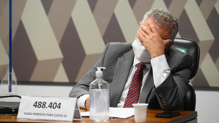 O relator da CPI da Covid, senador Renan Calheiros (MDB-AL) - Marcos Oliveira/Agência Senado
