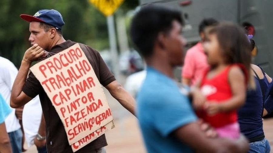 Desemprego estrutural do Brasil é mais alto que o de países desenvolvidos; baixo nível de formação da mão de obra e elevado custo de contratação estão entre o motivos, segundo analistas - MARCELO CAMARGO/AGÊNCIA BRASIL