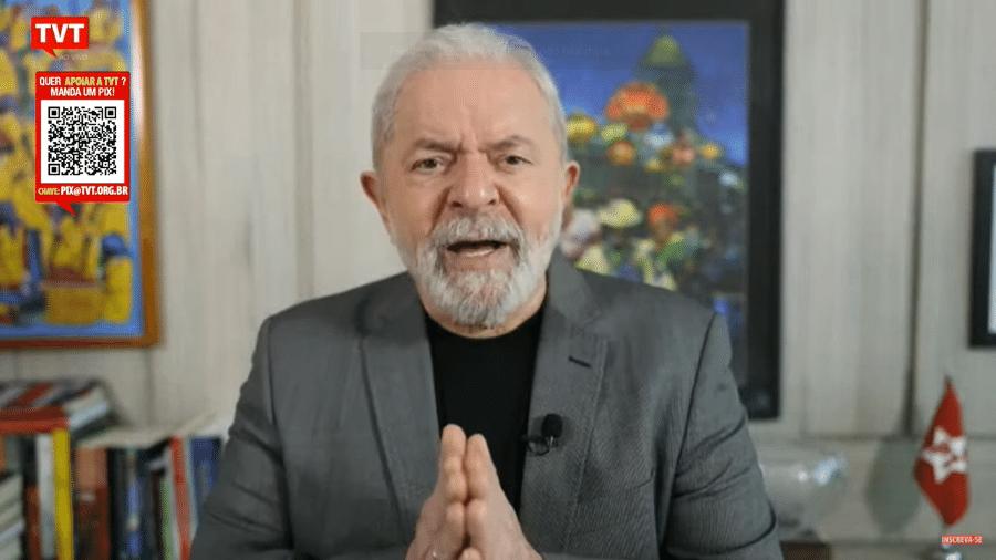 """""""Solução não é prender"""", disse o ex-presidente - Reprodução/TVT"""