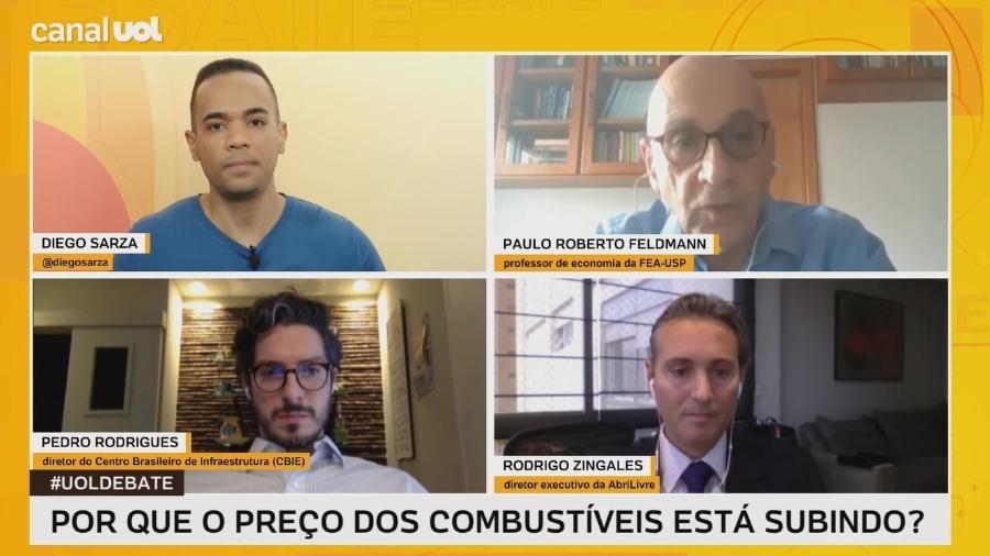 UOL Debate recebe Paulo Roberto Feldmann, Pedro Rodrigues e Rodrigo Zingales - UOL