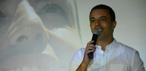 Rogério Lins (PTN) participa de entrevista coletiva no buffet Platinum
