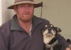 Fazendeiro improvisa após acidente e salva cachorro com respiração