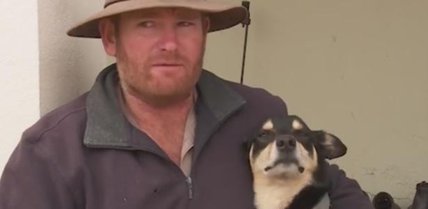 """Fazendeiro australiano salvou cachorro improvisando respiração """"boca a nariz"""""""