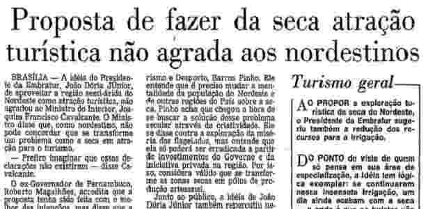 O Globo - Doria - Reprodução/Globo - Reprodução/Globo