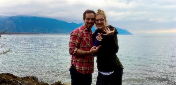 Kevin pediu Blake em casamento durante viagem à Suíça - Facebook/Kevin Walsh