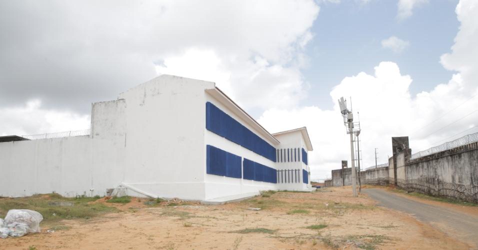 26.out.2017 -- Após massacre em janeiro de 2017, a penitenciária estadual de Alcaçuz, localizada na cidade de Nísia Floresta (RN), passa por uma reforma em seus cinco pavilhões