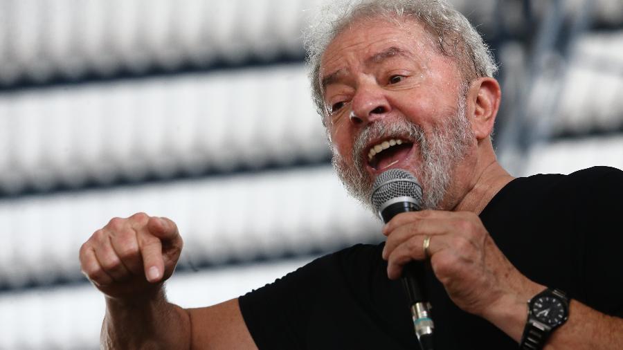 6.dez.2017 - O ex-presidente Luiz Inácio Lula da Silva (PT) - FÁBIO MOTTA/ESTADÃO CONTEÚDO