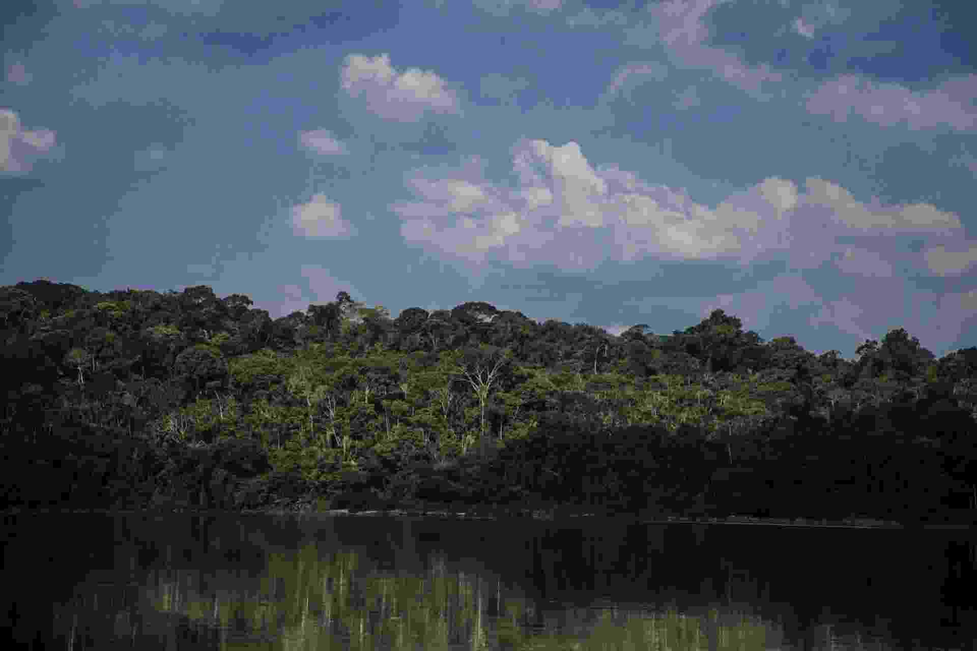 Rio Tapajós, no Pará, fonte de vida para os índios mundurukus - Ana Mendes/Agência Pública