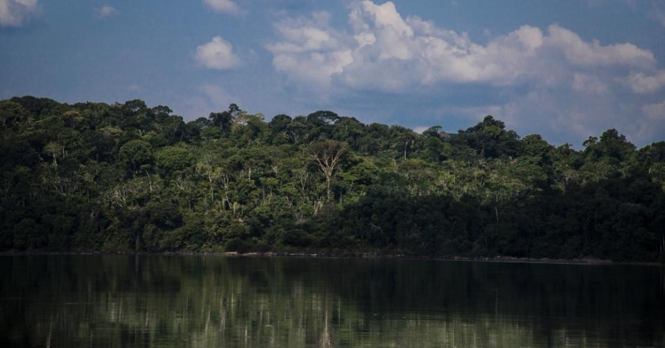 Rio Tapajós, no Pará, fonte de vida para os índios mundurukus