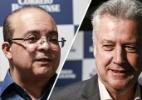 Ibope: Ibaneis tem 75% e Rollemberg 25% na disputa para o governo do DF (Foto: Arte/UOL)