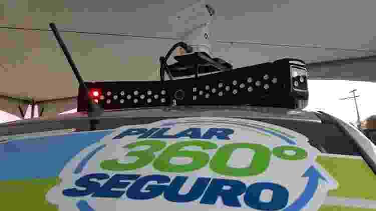 Pilar 360 Graus: carro com reconhecimento facial é lançado em Alagoas - Carlos Madeiro/UOL - Carlos Madeiro/UOL