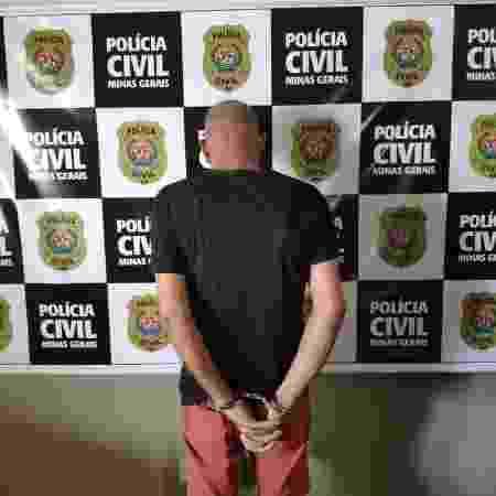 Homem é preso em Minas Gerais suspeito de enganar mulheres carentes para depois estuprá-las - Divulgação/Polícia Civil