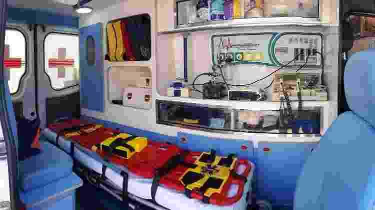 Paraisópolis ambulancia - Divulgação - Divulgação