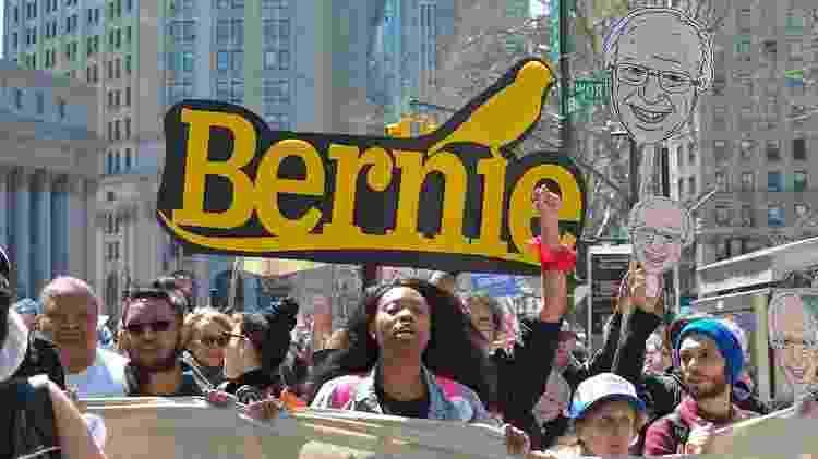 Partidarios de Bernie Sanders - Getty Images - Getty Images