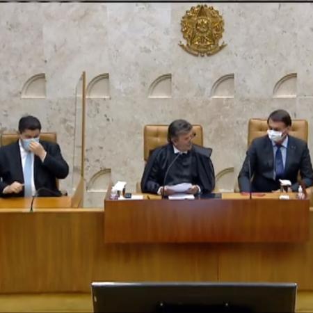 Luiz Fux toma posse como presidente do STF (Supremo Tribunal Federal) - TV Justiça/Reprodução