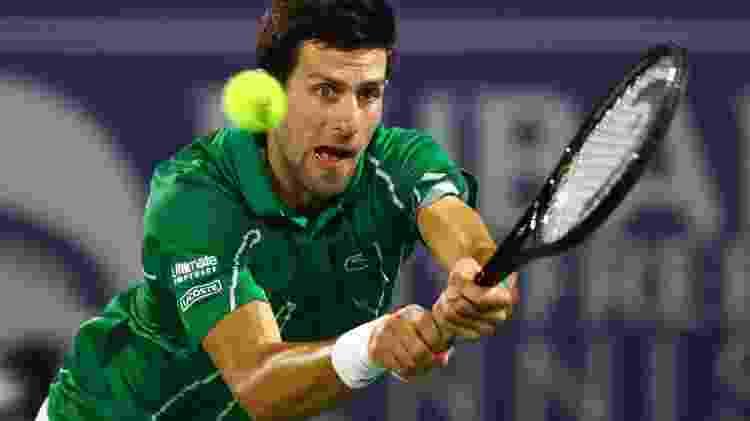 Novak Djokovic - AHMED JADALLAH - AHMED JADALLAH