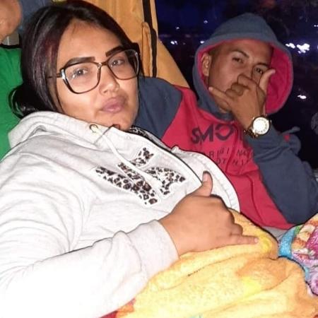 Juliane e Anderson estavam entre passageiros de ônibus que tombou em Guaratuba (PR) - Arquivo pessoal