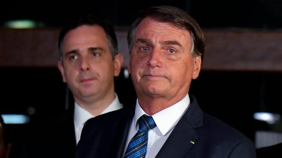 O presidente Jair Bolsonaro (sem partido) participa de cerimônia simbólica para entregar MP da Eletrobras ao Congresso - Mateus Bonomi/AGIF - Agência de Fotografia/Estadão Conteúdo