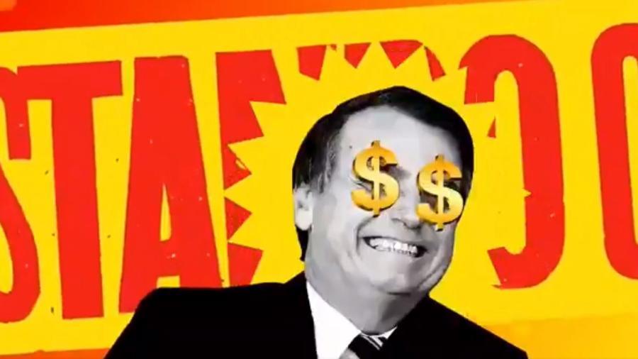 Bolsocaro: vídeo critica alta de preços na gestão Bolsonaro - Reprodução/Twitter