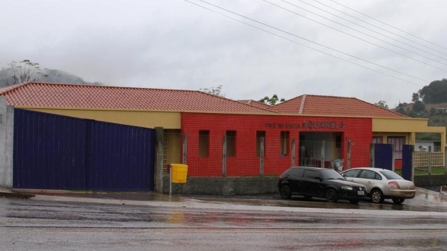 Um jovem de 18 anos invadiu a creche Aquarela, em Saudades (SC), e matou com um facão três crianças e duas mulheres  - Divulgação/Prefeitura de Saudades (SC)