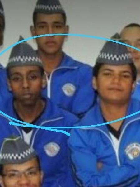 Soldados Leandro Martins, desaparecido, e Juliane dos Santos Duarte, morta em 2018, em destaque na foto - Acervo Pessoal