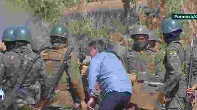 Bolsonaro participa de Operação Formosa, exercício militar da Marinha - Reprodução/TV Brasil - Reprodução/TV Brasil
