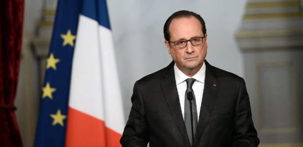 Franceses aprovam medidas anunciadas por Hollande após atentados - Stephane de Sakutin/Pool/AFP Photo