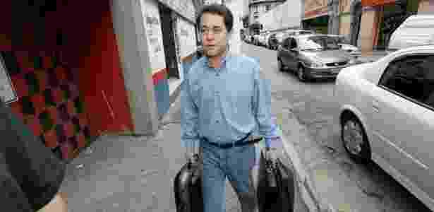 Ex-tesoureiro do PT, Paulo Ferreira entregou-se um dia após a Operação Custo Brasil - Luiz Carlos Murauskas/Folhapress