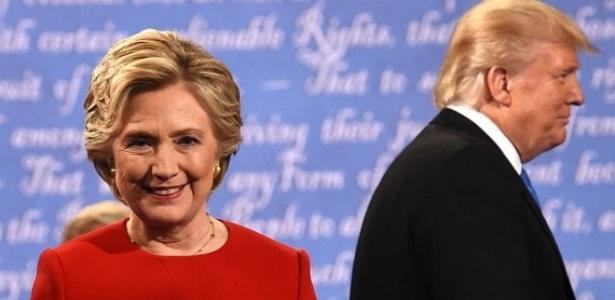 Hillary Clinton, candidata do Partido Democrata, teria três grandes vantagens sobre o republicano Donald Trump