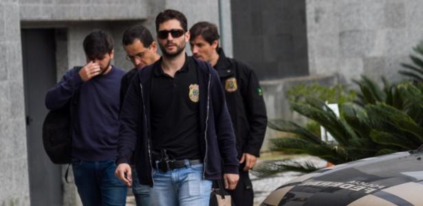 16.mai.2017 - Polícia Federal cumpre mandados de condução coercitiva em São Paulo