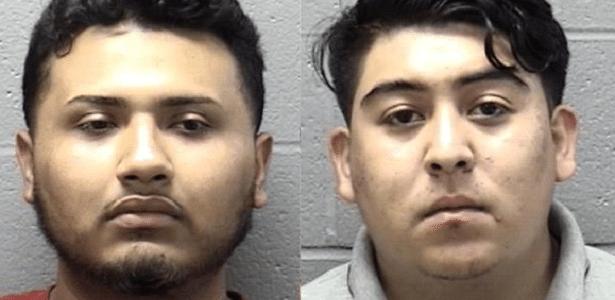 Jaime Anselmo (e) e Rafael Osorio foram presos após meses de investigação