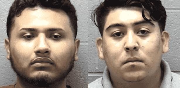 Jaime Anselmo (e) e Rafael Osorio foram presos após meses de investigação - Reprodução/Facebook