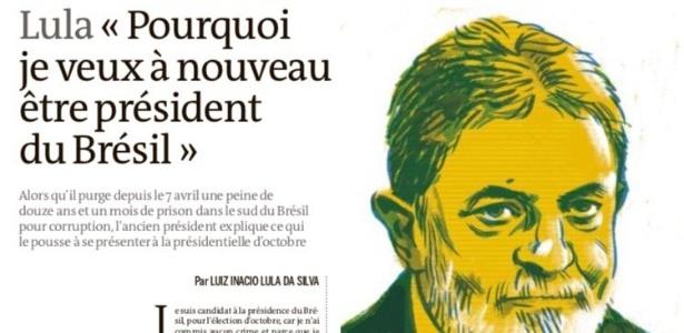 Artigo foi publicado na edição desta quinta (17) no jornal francês Le Monde