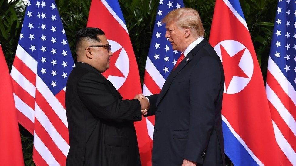 Na cúpula com Kim Jong-un, Trump deixou de fora uma questão séria da Coreia do Norte