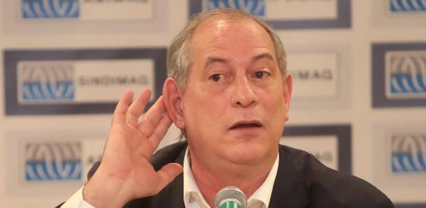 3.ago.2018 - O pré-candidato do PDT à Presidência, Ciro Gomes