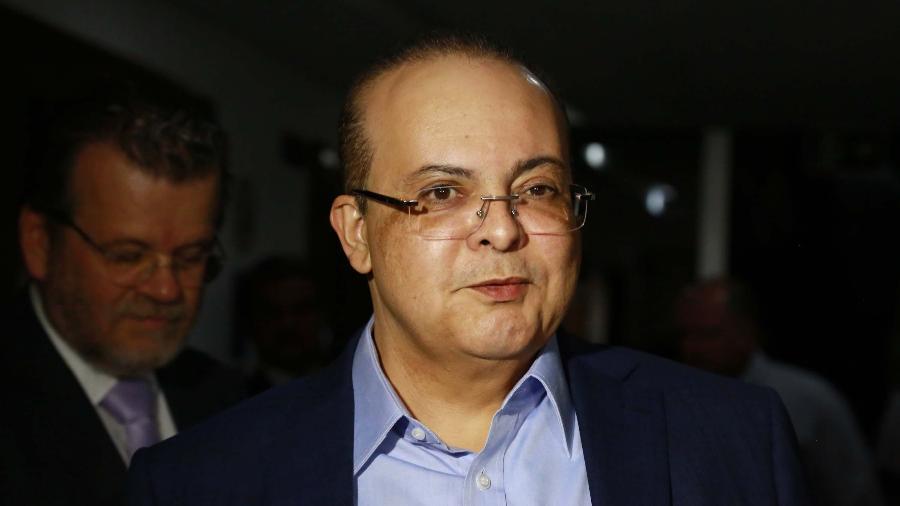 O governador Ibaneis Rocha está em seu primeiro mandato no DF - 16.ago.2018 - FáTIMA MEIRA/ESTADÃO CONTEÚDO