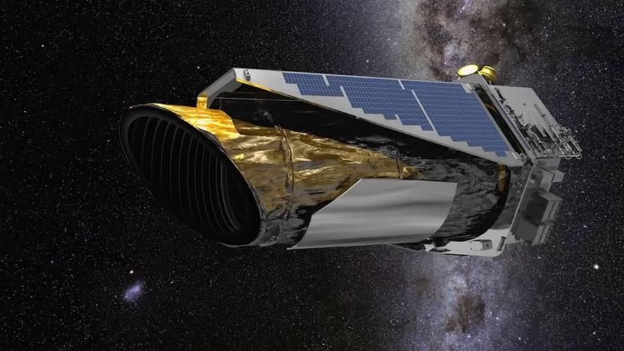 Nasa anunciou fim do telescópio espacial Kepler em 2018; dados foram usados por pesquisadores da Universidade de Warwick - Reprodução/NASA