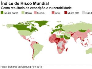 Índice de Risco Mundial - BBC - BBC