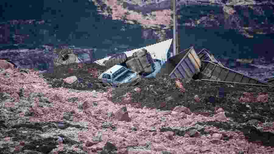 O rompimento da barragem, em 25 de janeiro, deixou 257 mortos e 13 desaparecidos - Cristiane Mattos/Futura Press/Estadão Conteúdo