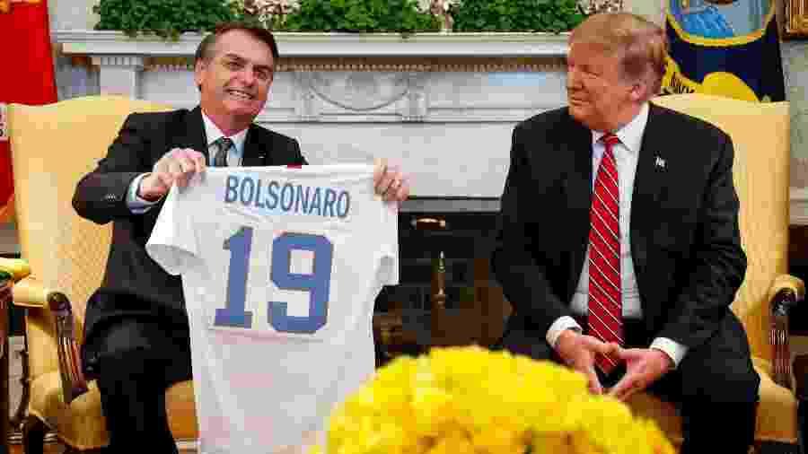 Governo Trump adotou decisões que prejudicaram diretamente o Brasil, em contraste com discurso de amizade e proximidade entre os dois países - Alan Santos/PR