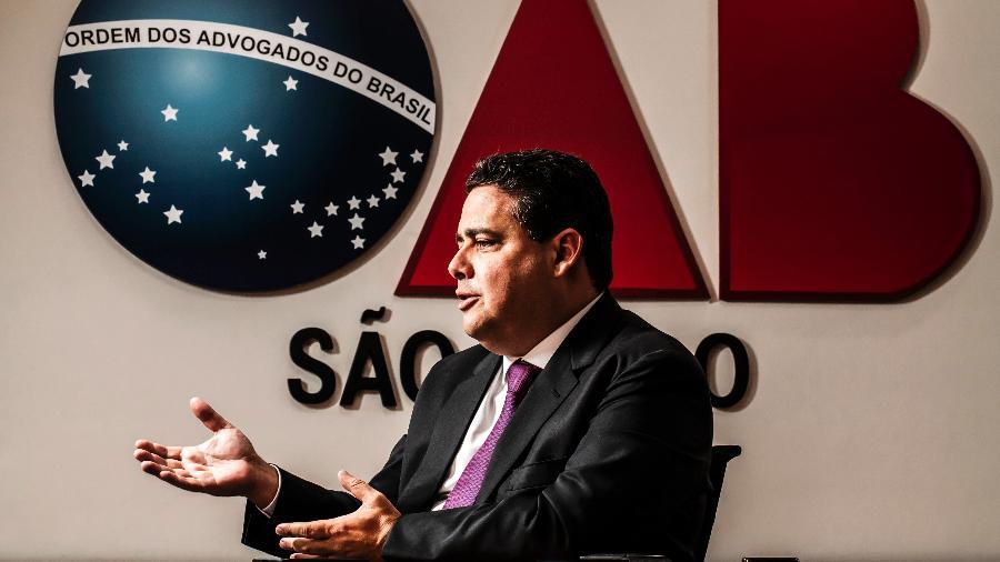 Felipe Santa Cruz não descartou concorrer ao governo do Rio no ano que vem - Fernando Moraes/UOL