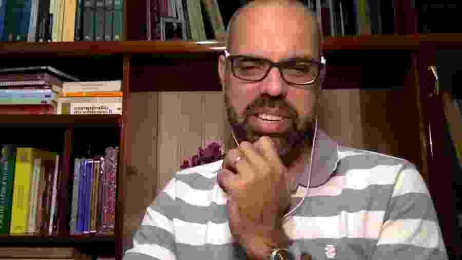 O blogueiro Allan dos Santos - Terça Livre