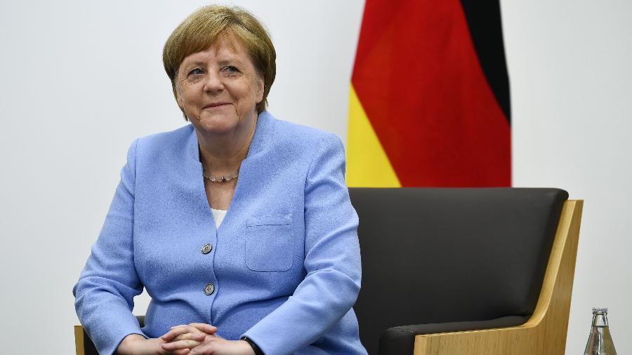 Angela Merkel, chanceler da Alemanha - Brendan Smialowski / AFP