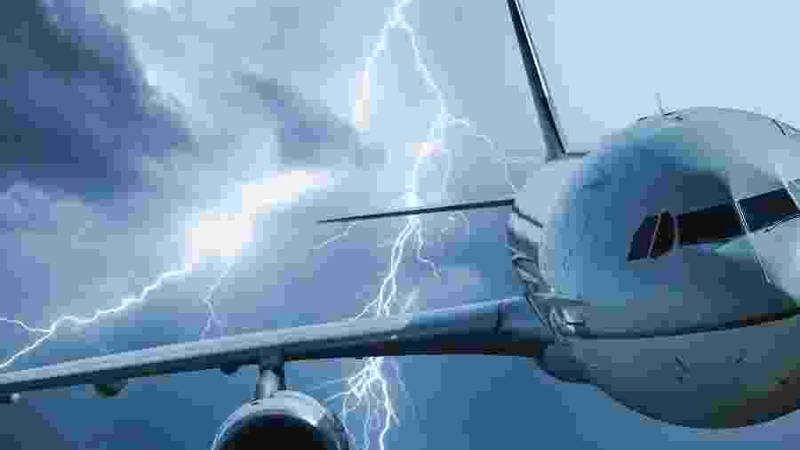 Após tempestade, aviões ficam com avarias; nova tecnologia consegue identificar danos - Getty Images/iStockphoto