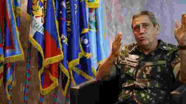 O general do Exército Walter Souza Braga Netto, que assumirá a Casa Civil - Fernando Frazão/Agencia Brasil - Fernando Frazão/Agencia Brasil