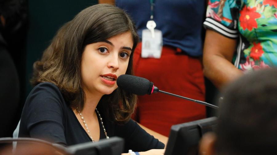 Tabata Amaral é do PDT, que orientou contra a votação do projeto - Luis Macedo/Câmara dos Deputados