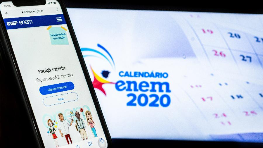 Problema para consultar notas do Enem 2020 começou na tarde de ontem, após liberação das informações - Antonio Molina/Fotoarena/Estadão Conteúdo