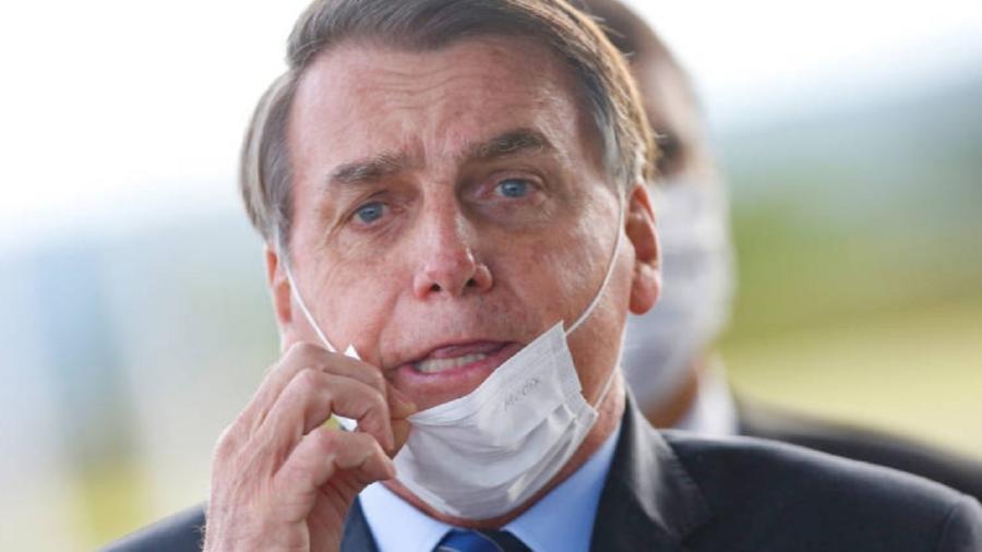 Presidente falou em desobrigar o uso de máscara por parte de pessoas vacinadas e recuperadas após infecção de covid-19 - Cristiano Machado/Reuters