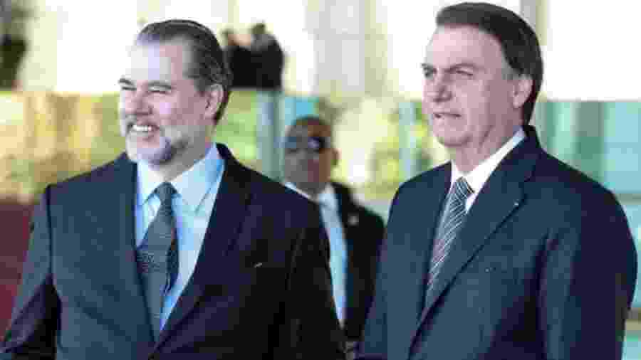 """Ministro do STF, Dias Toffoli, buscou relação """"harmoniosa"""" com o presidente Jair Bolsonaro - Presidência da República"""